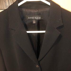 Ann Klein Navy Blazer Size 8